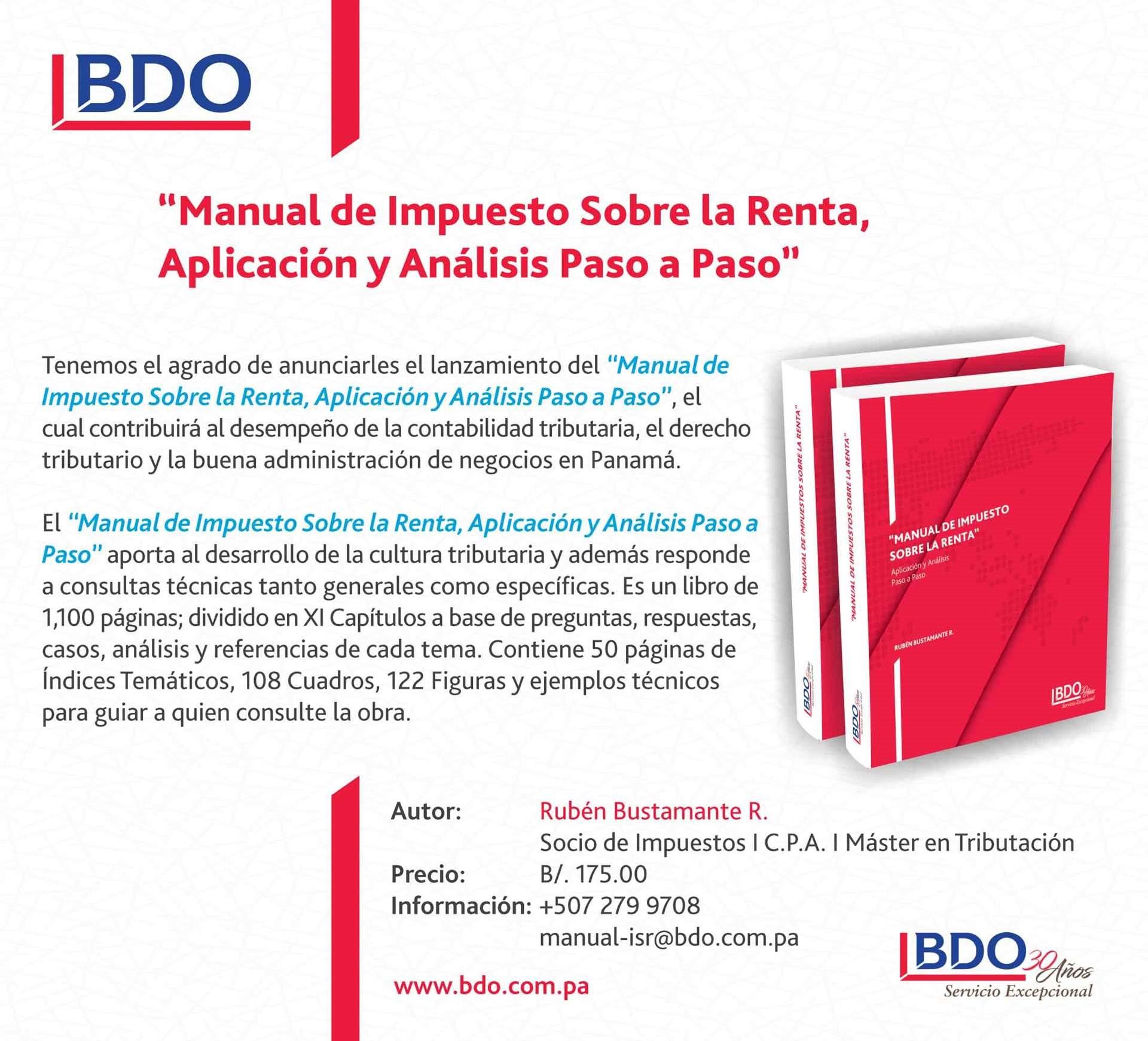 Manual de Impuesto Sobre la Renta, Aplicación y Análisis Paso a Paso ...